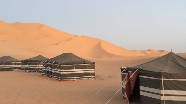 Tent in Empty Quarter Salalah Desert