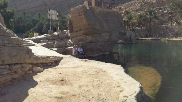 Amazing time at Wadi Bani Khaled