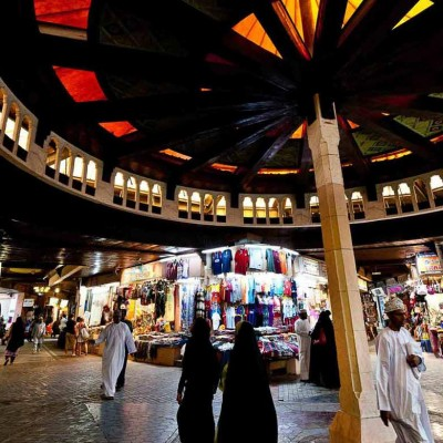 Muttrah Souk and Fish Market Shopping Tour